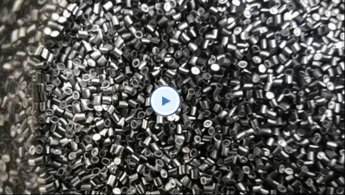 Re-pelleting of PEI resin with MSK pelletizer